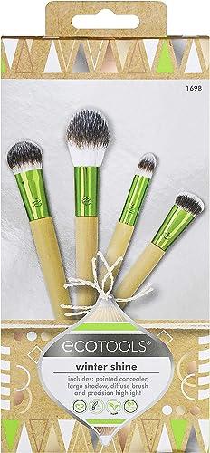 EcoTools Makeup Brush Kit with Eye Makeup Brushes, Set of 4