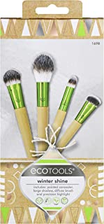 EcoTools Makeup Brush Gift Kit with Eye Makeup Brushes, Holiday Stocking Stuffer, Set of 4