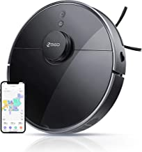 360 S7 Pro Robot Vacuum and Mop, LiDAR Mapping, 2650 Pa, No-Go Zones, Selective Room Cleaning,Self Charge and Resume, Comp...