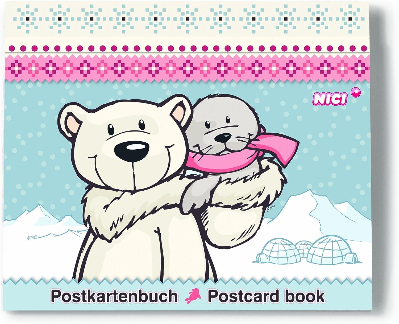 Unbekannt Great Gizmos NICI Weiß World - Polar Bear & Seal DIY Postcard Book B009WO16T4   Qualifizierte Herstellung