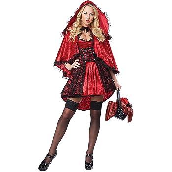 Generique - Disfraz Caperucita Roja Sexy Mujer L: Amazon.es ...