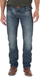 Men's Retro Slim Fit Straight Leg Jeans