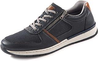 Rieker Men's Lace-Up Shoes Blue