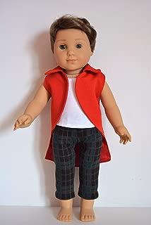 Handmade Doll Clothes Disney Descendants 2 Harry Hook Costume fits 18