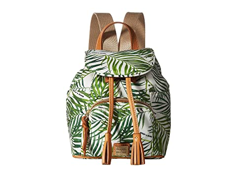 Under 50 Dollars Dooney & Bourke Siesta Small Murphy Backpack White/Btrsctch Trim Outlet Latest Collections 49RNtc