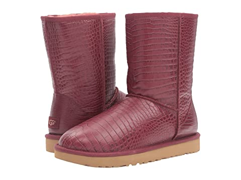 pink uggs classic short