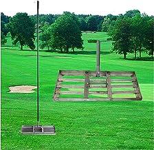 WSVULLD Golf gazon niveau hark roestvrijstalen golf tuin gras niveau, heavy-duty groot-capaciteit gazon push level tool go...