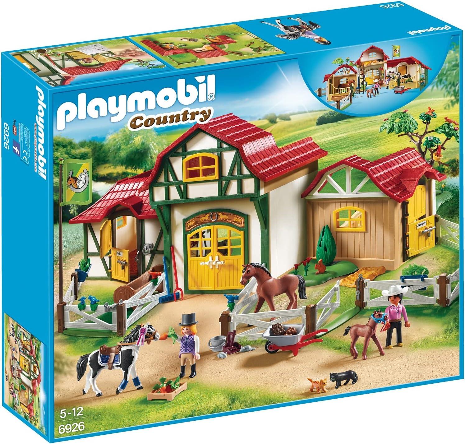 PLAYMOBIL Horse Farm Free Shipping Cheap Bargain Gift Set trust Building