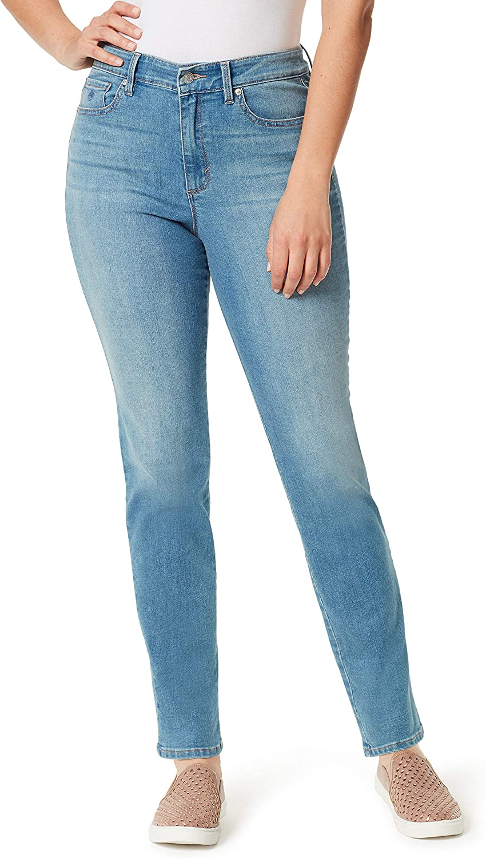 Gloria Vanderbilt Women's Amanda Slim High Rise Signature Pocket Jean