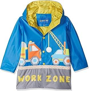 Wippette Boys' Water Resistant Rain Jacket