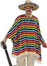 WIDMANN 9543X - Adult Costume mexicanos, poncho y sombrero, Talla Ênica
