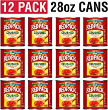 Redpack Crushed Tomatoes in Puree, 28oz Cans (Pack of 12)
