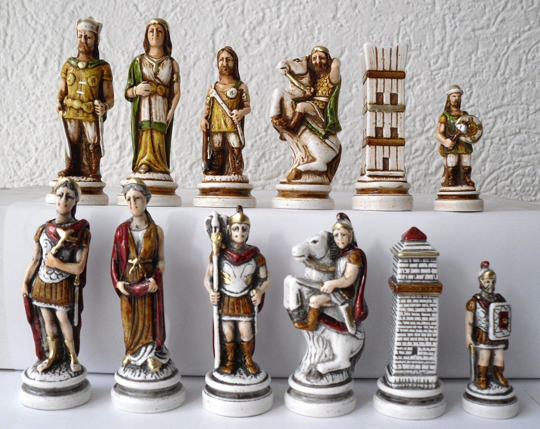 G&S Schachfiguren Romano   Barbara - Serie Romantica