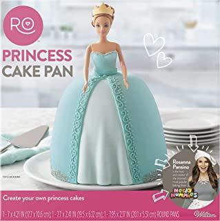 ROSANNA PANSINO by Wilton 3-Piece Princess Cake Pan Set