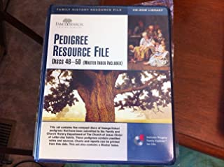 Pedigree Resource File Discs 46-50 (Master Index Included)