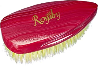 Royalty By Brush King Wave Brush #902- Patented Medium Pointy Palm brush - From The Maker Of Torino Pro 360 Wave Brushes