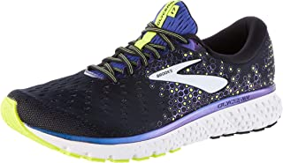 Brooks Australia Men's Glycerin 17 Men's Road Running Shoes, Black/Blue/Nightlife