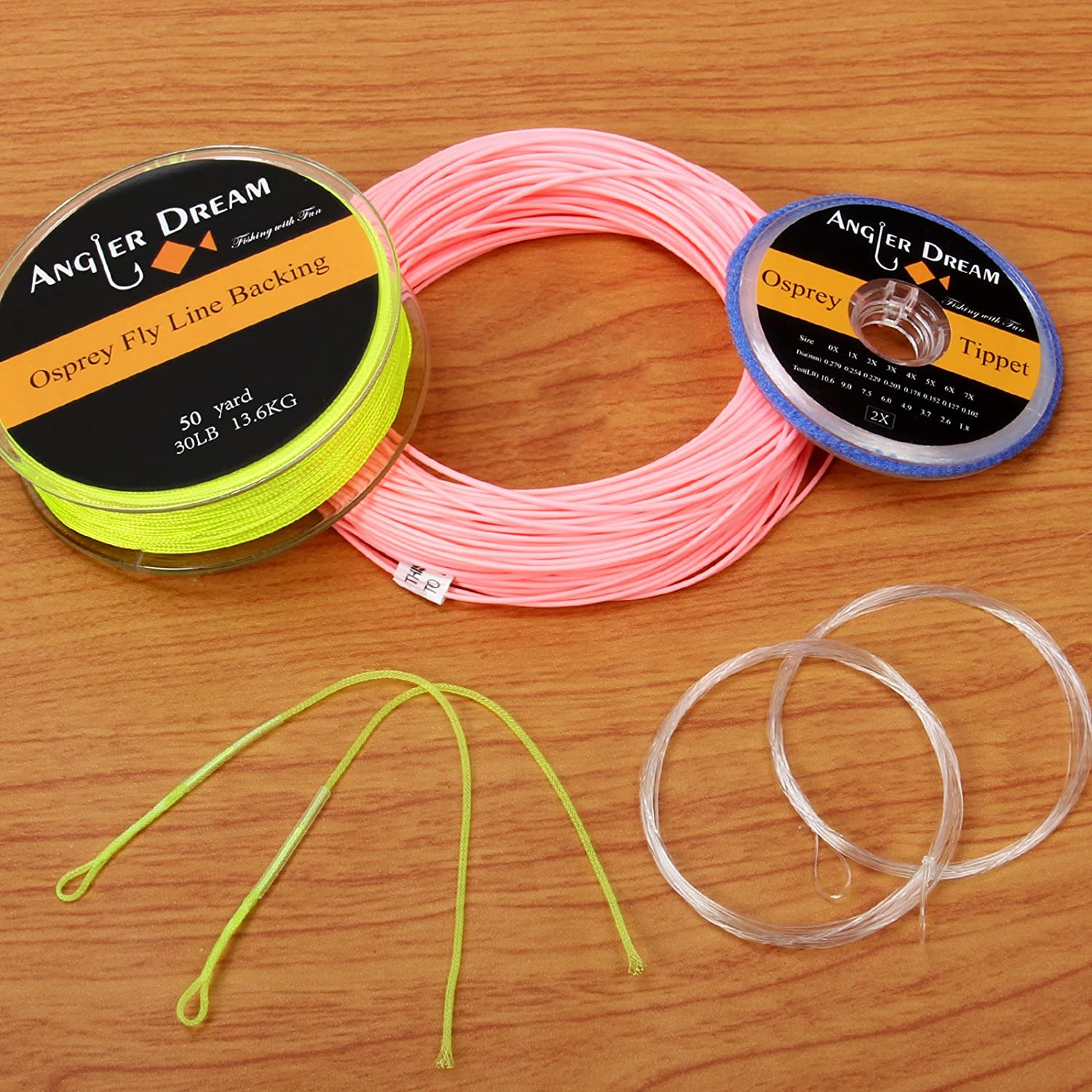 ANGLER DREAM AnglerDream WF Fly Fishing Line Kit 6 4 Same day shipping 7 3 2 1 Product 5 8