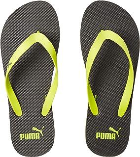 Puma Unisex-Adult Odius V2 Idp Iron Gate-limepunch Flip-Flops