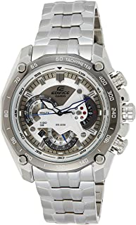 Casio Men's Dial Stainless Steel Band Watch - EF-550D-7AVDF