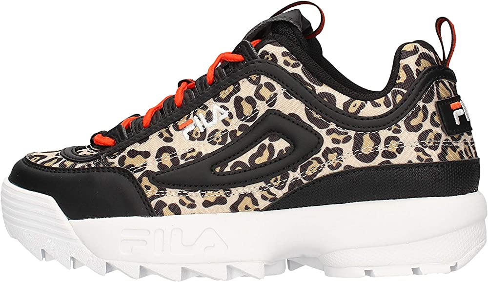 Fila disruptor animal wmn, sneakers donna in ecopelle 1010863_53X