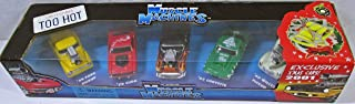 Muscle Machine 2001 Exclusive Christmas 5 Cars Set 1/64 Scale