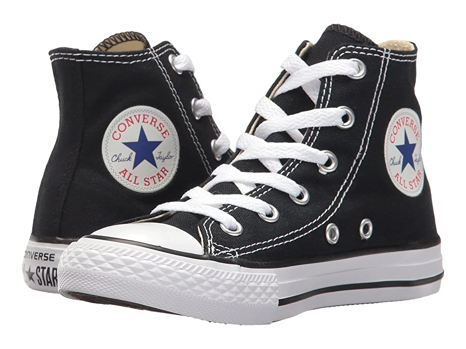 Converse Kids Chuck Taylor(r) All Star(r) Core Hi (Little Kid) (Black) Kids Shoes