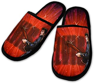Midsouth Products Elvis Presley Slippers Featuring 68' Comeback - One Size Fits Most