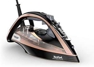 Tefal FV9845 Ultimate Pure Steam Iron, Black/Gold