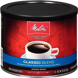 Melitta Classic Blend Medium Roast Ground Coffee, 22 Ounce