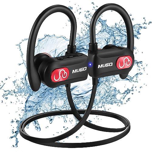 Auriculares Bluetooth Deportivos Impermeables IPX7, Cascos Bluetooth inalámbricos, Tecnología APTX y de Ruido de