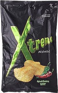 Xtreme Potato Chips, Hot Flavour - 185 gm