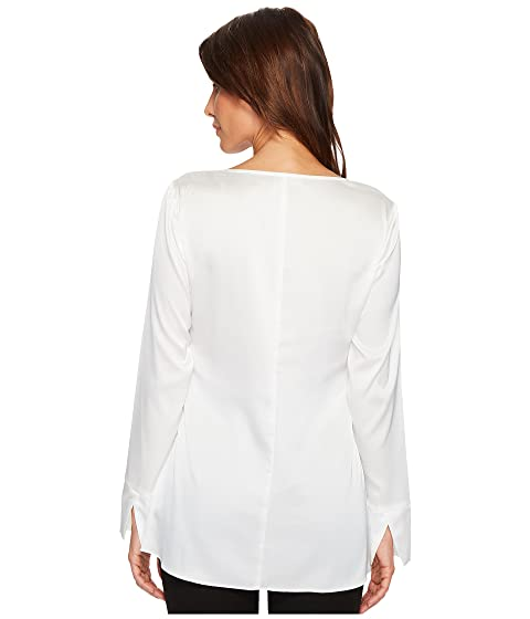 Sleeve Long Woven Ivanka Blouse Trump gExwqg1P