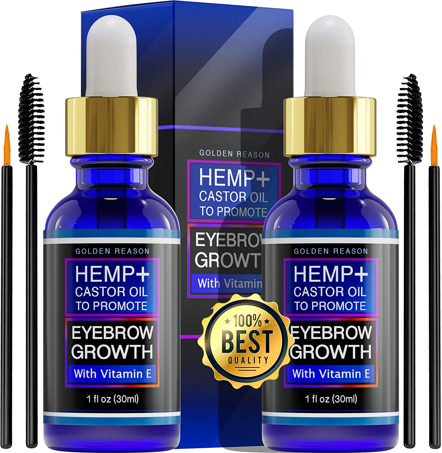Max 90% OFF low-pricing Hair and Eyebrow grows oil. Hemp + castor promote to gr oil hair