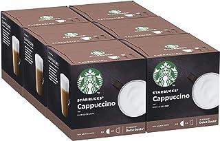 Starbucks Cappuccino by Nescafe Dolce Gusto 6 x 12 capsules (72 caspsules, 36 tasses)