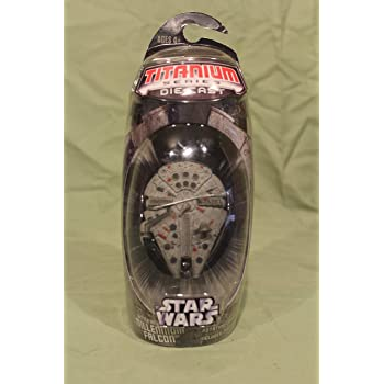 MILLENNIUM FALCON 34532 Hasbro TITANIUM SERIES STAR WARS 3INCH VEHICLES