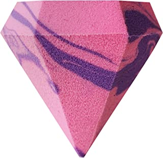 Real Techniques Limited Edition Brush Crush, Diamond Sponge - Makeup Sponge with Multifaceted Design for Application of Foundation, Powder, Blush, Concealer, Beauty Products