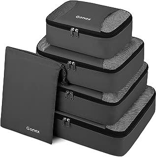 Packing Cubes 3 Set(M)/ 5 or 9 Set(XL/L/M/S/Shoe Bag) Luggage Travel Organizers