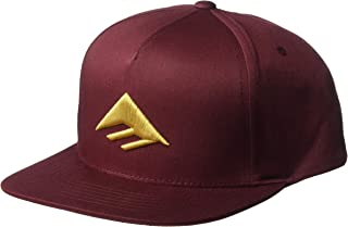 Emerica Mens Triangle Snapback Cap Baseball Cap
