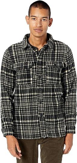 Jaxon Brushed Wool Check Overshirt