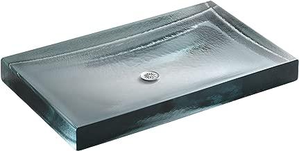 KOHLER K-2369-B11 Antilia Wading Pool Glass Bathroom Sink, Ice