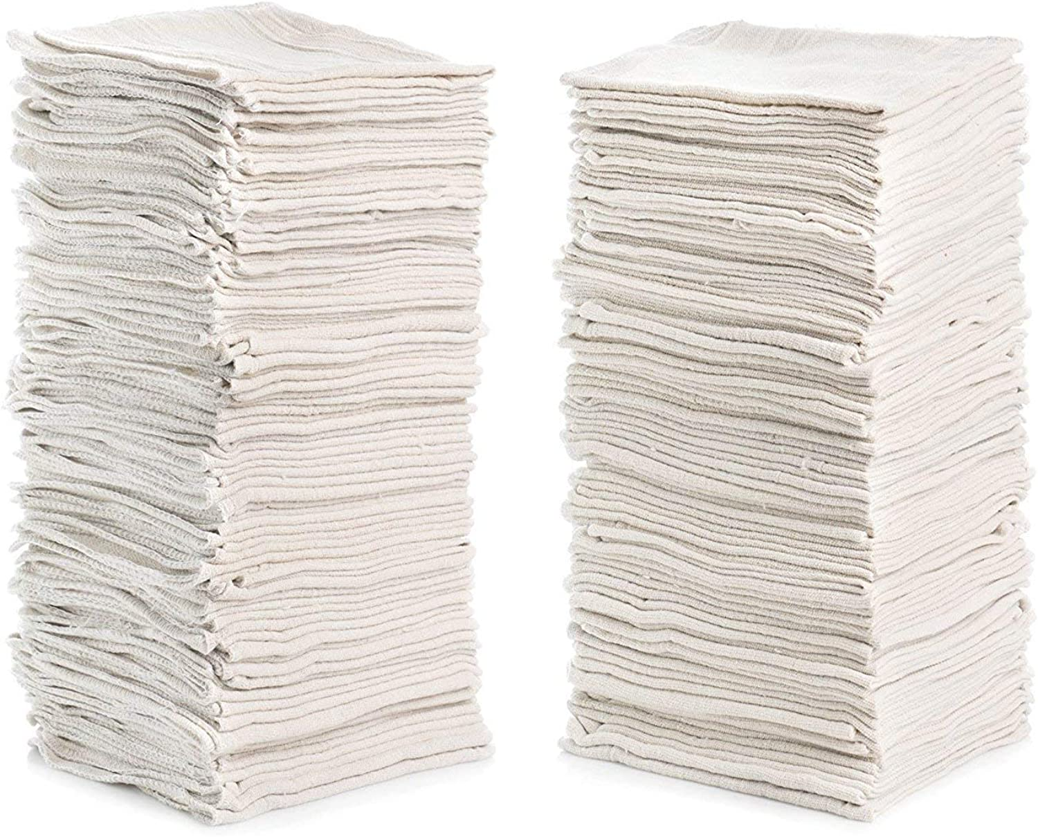 """Simpli-Magic White 500 Pack 500 Pack 79170 Shop Towels Size  14"""" x 12"""" Commercial Grade, 500 Pack"""