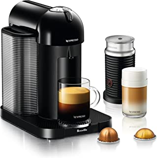 Nespresso by Breville BNV250BLK1BUC1 Vertuo Coffee and Espresso Machine, normal, Black