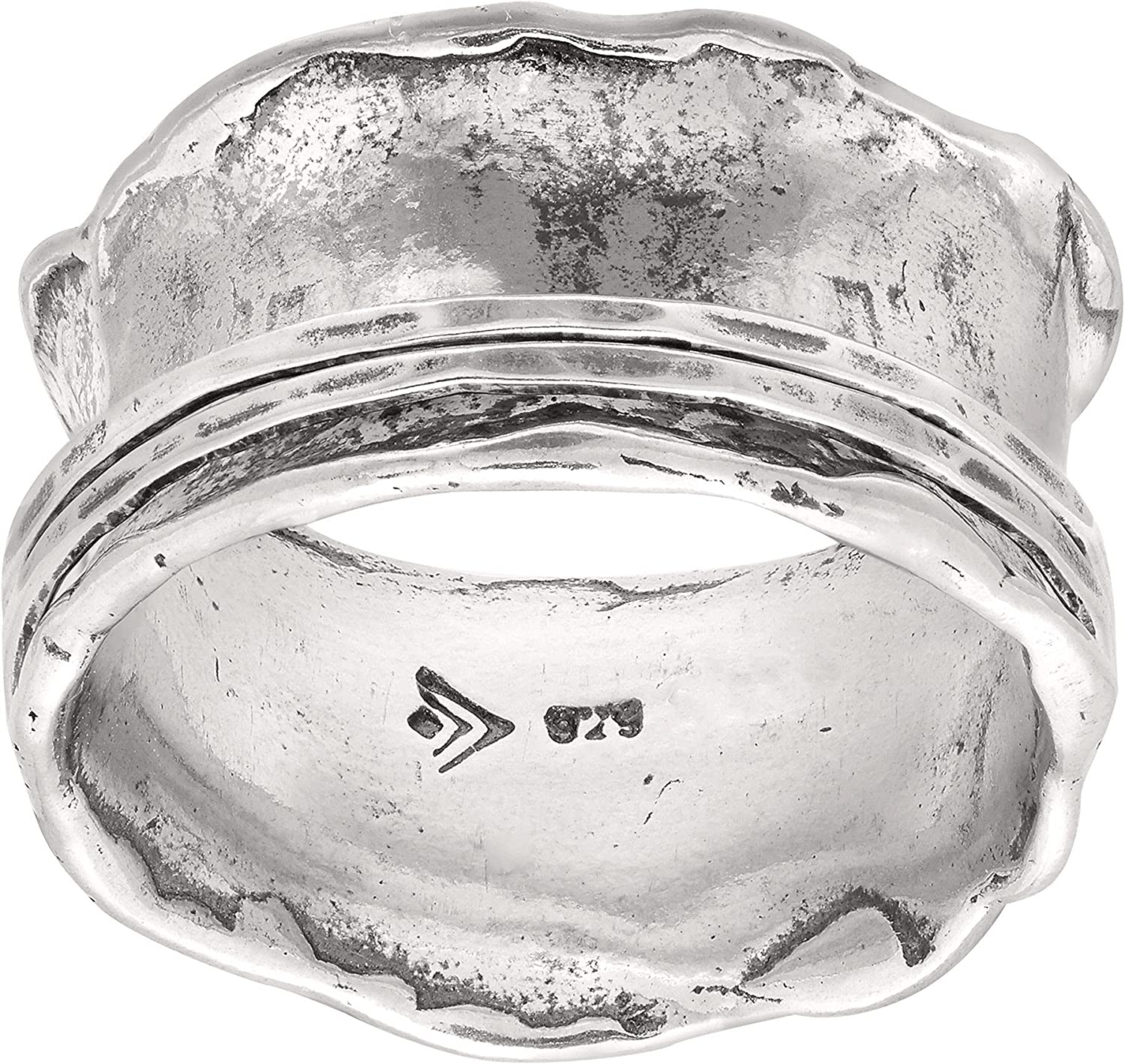 Silpada Selling rankings 'Wave Rider' Scalloped Spinner Ring in Choice Sterling Silver