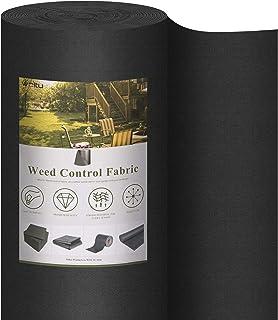 WOLTU 150 g/m² Toile Anti-Mauvaises Herbes, Toile de paillage, Film géotextile, Toile pour Parterre de Fleurs Anti-UV Ant...