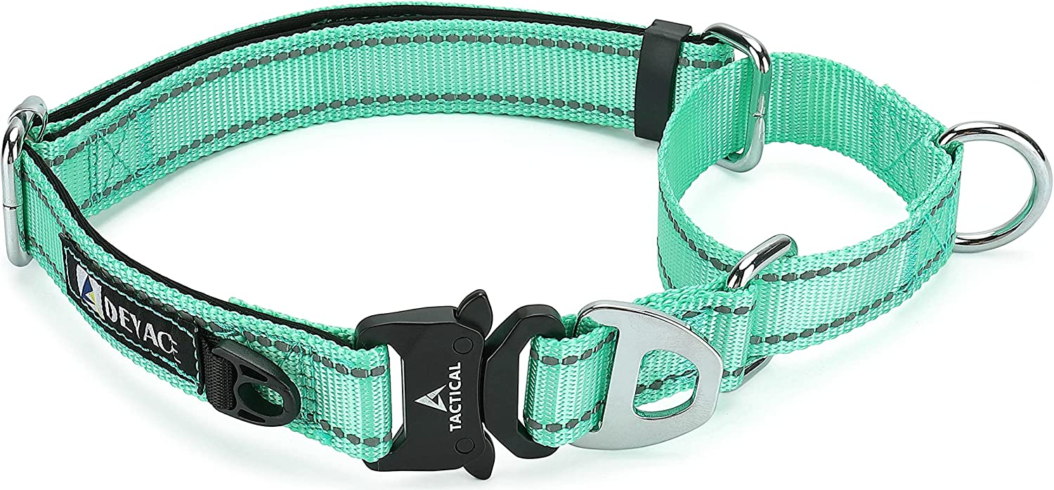 DEYACE Martingale Quality 2021 model inspection Collar for Dogs Cl Quick Release Metal Buckle