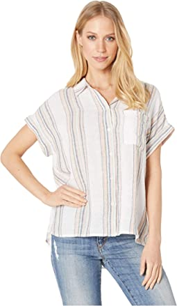 c88dca195786dd Sanctuary tie back boyfriend shirt | Shipped Free at Zappos