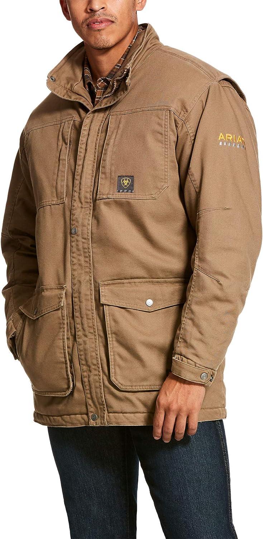 ARIAT Men's Rebar Washed Duracanvas Insulated Coat