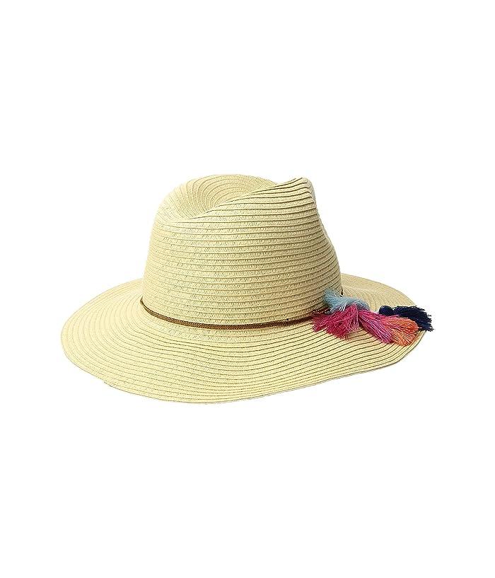 Hippie Hats,  70s Hats SCALA Braid Safari with Tassel Natural Caps $24.99 AT vintagedancer.com