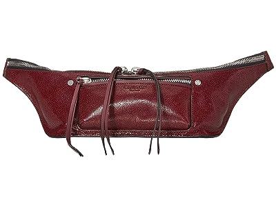 rag & bone Small Elliot Fanny Pack (Merlot) Bags